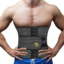 Waist Trainer Support Belt Abdomen Mens Cincher Weight Loss Abs Back Support