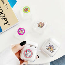 Cute Airpods Case Cover Cartoon Bear Kenny Rabbit Earphone For Apple Charging