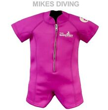 TWO BARE FEET Baby Wetsuit kids sunsuit swimming PINK