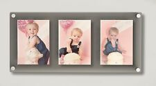 """All colours Cheshire  Acrylic magnetic 5 x 7"""" /7x5"""" multi  picture photo frame"""