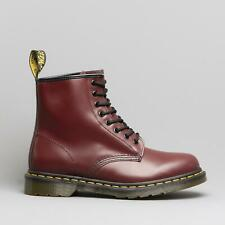 Dr Martens 1460z Unisex Classic Airwair 8 Eyelet Boots Cherry Red Mens/Womens