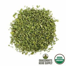 Certified Organic Marshmallow Leaf Althaea Officinalis Dried Herb Choose 1-16 oz