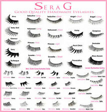 GOOD QUALITY False Eyelashes | Long Short Natural Thick Fake Lashes | Made In UK