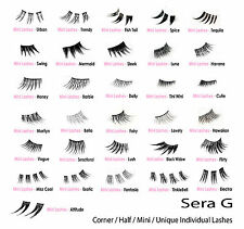 GOOD QUALITY Corner Half Partial Individual False Eyelashes | Long Short Lashes