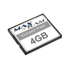 4GB Compact Flash Memory Card for Norcent DC1-6000 & more