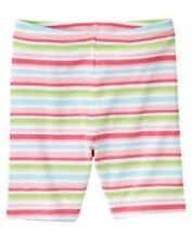 GYMBOREE FAIRY GARDEN MULTI COLOR STRIPE BIKE SHORTS 3 4 5 6 7 8 9 10 12 NWT