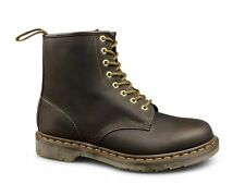 Dr Martens 1460z Unisex Classic Airwair 8 Eyelet Boots Gaucho Oily Brown