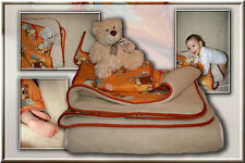 Kinder Bettset, Babybett, Kinderbett Oberbett, Unterbett, Kissen Made in Germany