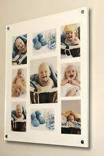 """Cheshire Acrylic 10 x 8 """"/8x10 """" /6x4 /7x5"""" multi picture photo frame all color"""