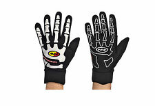 Guanti Invernali Northwave SKELETON Black/White/WINTER GLOVES NORTHWAVE SKELETON