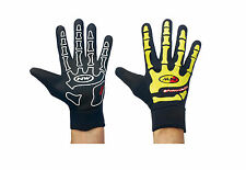 Guanti Invernali Northwave SKELETON Black/Yellow/WINTER GLOVES NORTHWAVE SKELETO