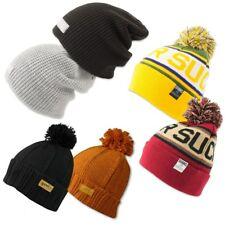 DJINNS ® BEANIE Winter Mütze Jersey Strick Wollmütze Long Beanie Bubble Cap OSFM