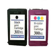2 Non-OEM Replace For HP 300XL 300 Black Colour Ink Cartridges