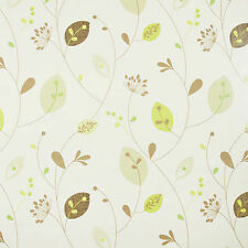 NATURAL LEAVES & STEMS PVC VINYL WIPE CLEAN TABLECLOTH & MANY SIZES AVAILABLE