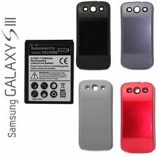 Samsung Galaxy S3 III i9300 Extended Battery And Cover (4300mAh) ~ NO NFC ~