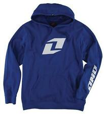 ONE INDUSTRIES ICON PULLOVER PO HOODY BLUE HOODIE CHEAP NEW MX MOTOCROSS FLEECE