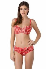 NEW Freya St Louis Sweetheart Underwired Padded Bikini Top ONLY Lipstick Red