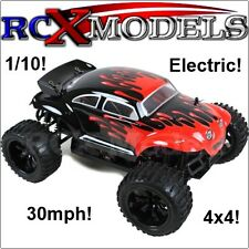 RC Car 4x4 Truck/Buggy Remote Control Model Electric Version of Nitro 30mph Fast