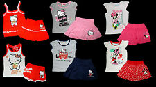 Hello Kitty Disney Minnie Set Sanrio Rock Top Shirt Short Hose 86 - 140