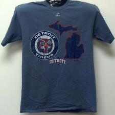MLB Baseball T-Shirt DETROIT TIGERS - Cooperstown Double Digit Lead Pigment Dyed