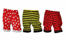 Bumble Bee Lady Bug Red & White Polka Dots Short Bloomers Halloween Fancy Dress