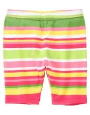 GYMBOREE TEA TIME AFTERNOON BOLD STRIPE BIKE SHORTS 3 4 5 6 7 8 9 NWT