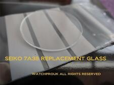 """QUALITY REPLACEMENT GLASS crystal  """"MADE IN JAPAN""""  FOR YOUR SEIKO 7A38"""