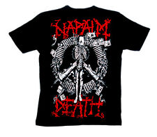 NAPALM DEATH Shirt S,M,L,XL Carcass/Bolt Thrower/Nasum/Brutal Truth/Converge