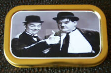 Laurel and Hardy-c- 1 and 2oz Tobacco/Storage Tins