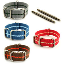 Nato Watch Strap Band Military Nylon Divers G10 MoD CS 18mm 20mm 22mm