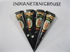 100% NATURAL HENNA CONES - FRESHLY MADE CONES- DARK COLOR GUARANTEED - FREE SHIP