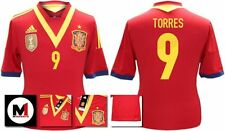 *13 / 14 - ADIDAS ; SPAIN HOME SHIRT SS / TORRES 9 = SIZE*