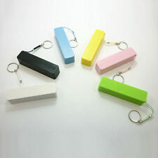 Power Bank External Portable 2600 mAh USB Battery Charger iPhone Samsung USB