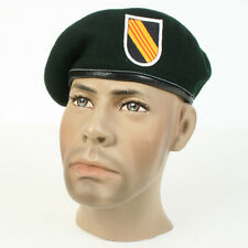 US Vietnam Special Forces Green beret with flash