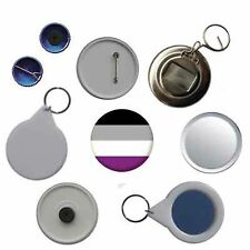 Asexual Pride Pin Button Badge Magnet Keyring Bottle Opener Mirror