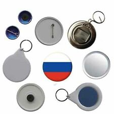 Russia Flag Pin Button Badge Magnet Keyring Bottle Opener Mirror
