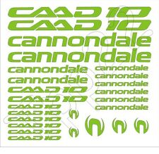 KIT 25 ADESIVI STICKERS BICI CANNONDALE CAAD10-00