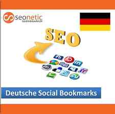 25 / 50 Deutsche Social Bookmarks - Backlinks - SEO - Bookmarking - 100% manuell