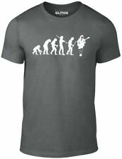 Evolution of Angus Young T-Shirt - Funny t shirt retro AC DC music rock metal US