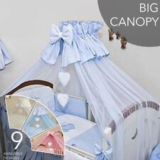 Crown Baby Canopy/ Drape/ Mosquito Net Only / Large 480 cm For Cot Cot Bed Heart