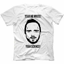 Jesse Pinkman T-Shirt 100% Cotton Breaking Bad Inspired Walter White Heisenber