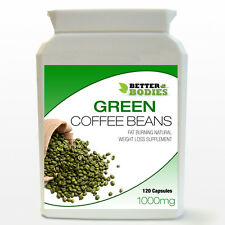 PURE GREEN COFFEE BEAN EXTRACT CAPSULES BOTTLE DIET WEIGHT LOSS SLIMMING PILLS