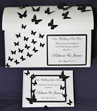 CLS179 Wedding Chest Butterfly Cards Post Box Wishing Well + Guest Book