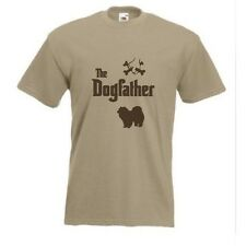 The Dogfather Chow t-shirt Funny Chow Chow Dog T-shirt sizes S TO XXXL
