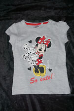 schickes Shirt / T-Shirt Disney Minnie Mouse 98, 104, 116, 128