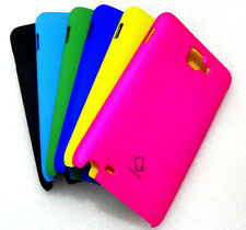 SAMSUNG GALAXY NOTE N7000/I9220 RUBBERISED MULTI COLOR CAPDASE HARD BACK CASES
