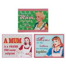 Mum Gift Novel Vintage Shabby Chic Tin Metal Signs