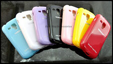 SAMSUNG GALAXY S DUOS S7562 MULTI-COLOR SOFT SILICON BACK CASE COVER.