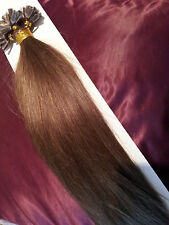 "20""NAIL TIP/U TIP 1G #6 AAAgrade HUMAN HAIR EXTENSIONS UK SELLER,FAST DELIVERY"