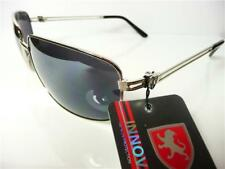 New Black Aviator Vintage Retro Mens Ladies Unisex Designer Sunglasses UV400 K15